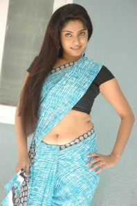 Mallu Aunty Saree Navel