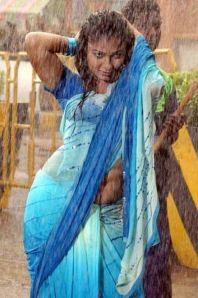 Mallu Aunty Wet Saree